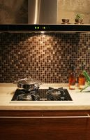 Ideas para una piedra Entrepaños de cocina