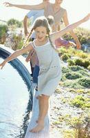 Cómo retrolavado una piscina de drenaje en la alcantarilla