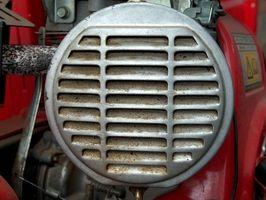 Cómo iniciar pequeños motores con fluido de arranque