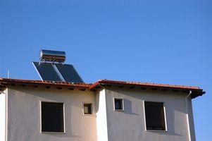 Como calcular las cargas de Potencia y calentar de agua solares