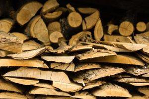 Cómo identificar de madera partido Leña
