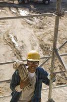 Cómo construir un andamio irregular en el Trabajo