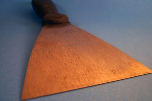 Alemanes herramientas hechas en yeso