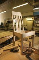 Ideas para rehacer Sillas de madera del listón Volver