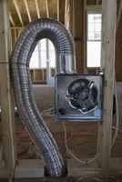 Cómo ajustar los conductos en una casa del acondicionador de aire
