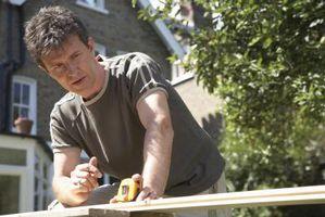 Cómo construir un banco de trabajo con un tornillo de banco de la cola y el Frente Vise