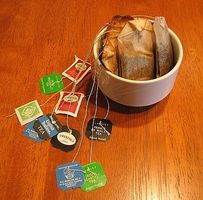 Cómo reciclar bolsas de té