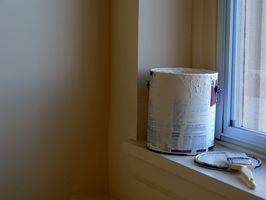 Problemas con el interior de pintura que burbujea