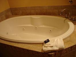 Cómo limpiar la bañera de hidromasaje Jets