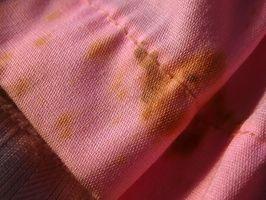Tres productos químicos de eliminación de manchas Común