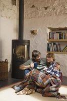 Cómo calentar una casa con una estufa de pellets
