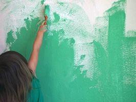 Cómo pintar un dormitorio verde