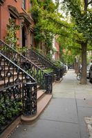 Cómo restaurar exterior Brownstone Escaleras