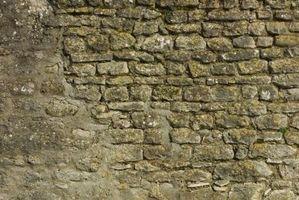 Cómo reparar grietas en la albañilería de piedra
