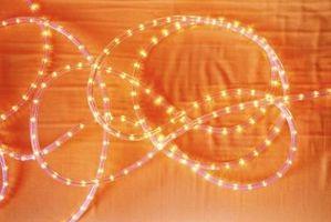 Cuerda de iluminación: estándar vs. LED