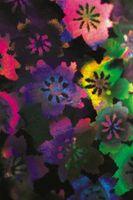 Arte de la pared del vinilo flor de papel de bricolaje