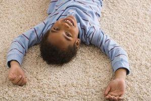 Como goma de las alfombras de acero