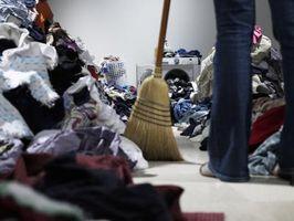 Organizador y listas de verificación de limpieza