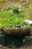 Sobre como hacer de fuentes de agua