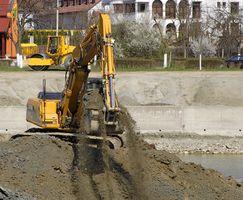 Instrucciones de uso de una excavadora