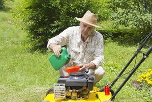 ¿Cómo funciona un motor de Trabajo cortadora de césped?