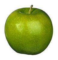 Enfermedades de la hoja en los árboles de manzana Granny Smith