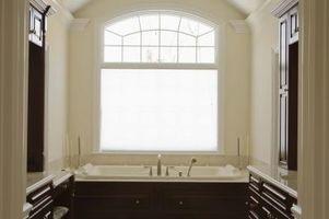 Cómo pintar techos de baños con textura