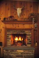 Lo que se necesita para convertir una chimenea de madera de gas?