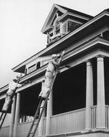 ¿Cuál fue el revestimiento vertical usada en casas de la década de 1970 se hacen?