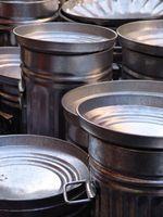 Cómo limpiar un tambor de acero inoxidable