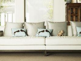 Cómo hacer tu propio fundas de cojines de sofás seccionales