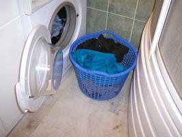 Como prueba de agua de una habitación en el piso de lavandería