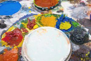 Cómo utilizar un papel de filtro y solvente para comprobar si la pintura es viejo o nuevo?