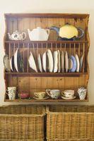 Ideas de almacenamiento para los platos en una cocina
