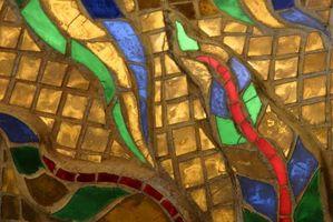 Cosas que utilizar como base del mosaico