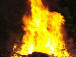 Cómo construir un pozo de fuego Hundido