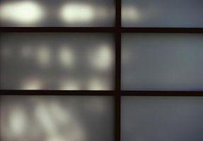 Cómo hacer y de la pintura Mi propia pantalla Shoji
