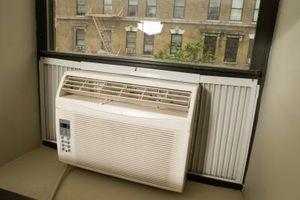 Cómo limpiar un acondicionador de aire viejo