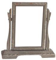 ¿Cómo marco un espejo de pared plana Vanidad