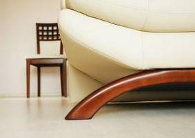 Cómo limpiar pegamento de microfibra para muebles