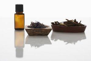 Los aceites esenciales con vinagre para la pulverización aérea