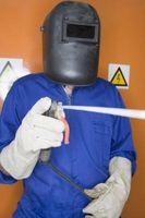Cómo soldar tuberías de hierro Negro de acero