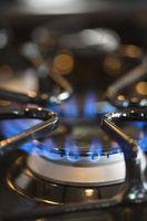 Cómo volver a pintar las rejillas del quemador de gas estufa
