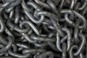 Cómo cortar una cadena de metal