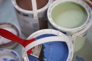 ¿Cuáles son los COV en la pintura?