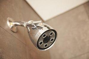 Cómo reemplazar un artefacto de iluminación ducha