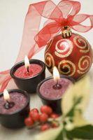 Cómo quitar vela roja cera de una alfombra de luz