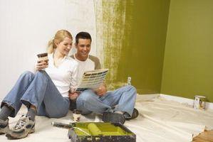 Pintar una habitación para que se vea Taller