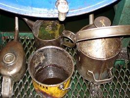 ¿Cómo deshacerse de los lodos en un depósito de aceite