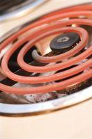 Cómo limpiar una unidad del quemador Horno electrico